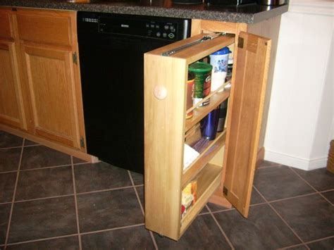 Cabinet Spice Rack Plans by Diy Slide Out Spice Rack My Version Of One Of Those