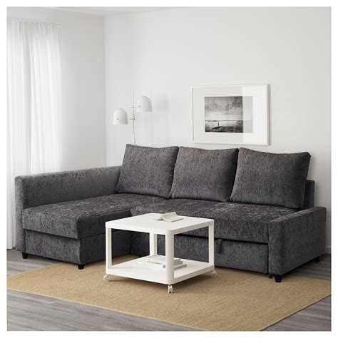 corner couch sofa bed friheten corner sofa bed with storage grey ikea