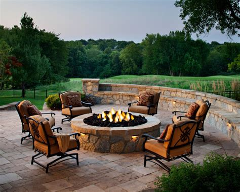 furniture outdoor seating around pit outdoor