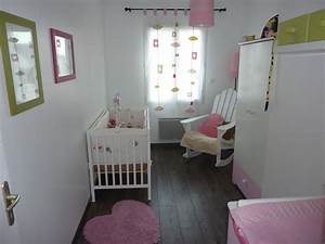 idee chambre bebe fille collection avec idee chambre bebe With chambre bebe petit espace