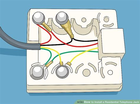 telephone jack wiring diagram wiring diagram database