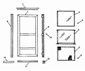 Sears Storm Doors Parts