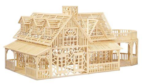 Haus Selber Bauen Aus Holz by 3d Holz Modell Villa Zum Selber Bauen