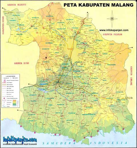 peta kota peta kabupaten malang