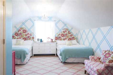 Girls Tween Bedroom Makeover {gold, Turquoise, Magenta