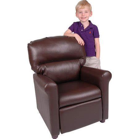 recliner chair walmart better homes and gardens faux leather recliner