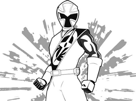 Power Rangers Ninja Storm Coloring Pages Democraciaejustica