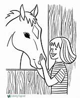 Coloring Farm Pages Printables Printable Pbs Drawing Horse Activities Printing Fun Clipart Getdrawings Library Help sketch template