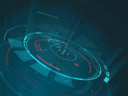 Space Platform Hud Technology Dribbble Futuristic Sci