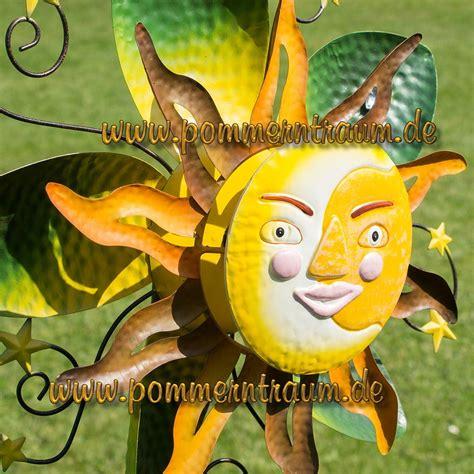 Gartendeko Windspiel by Windspiel Windrad Gartenstecker Gartendeko Metall Sommer Sonne