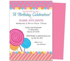 kids birthday party invitation templates images