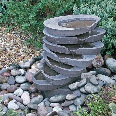 Garten Kaskaden Wasserspiel  Goldney • Gartentraumde