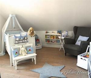 Kinderzimmer Blau Grau : babyzimmer ikea babyboy sterne blau grau kinderzimmer babybett geliebte heimat ~ Markanthonyermac.com Haus und Dekorationen