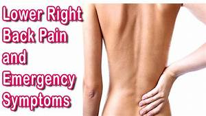 Lower Right Back Pain  U2013 Lower Right Back Pain And