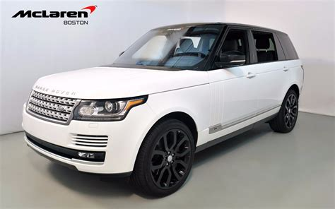 2016 Land Rover Range Rover Supercharged For Sale In
