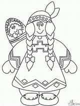 Kleurplaat Kleurplaten Indiaan Dieren Afkomstig sketch template