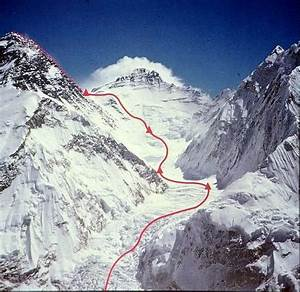 The 1980 Winter Ascent Route On Mount Everest   Photos