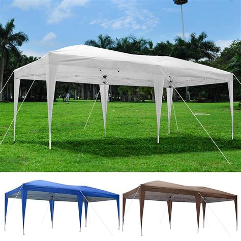 ez up gazebo 10 x 20 outdoor ez pop up canopy wedding