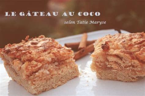 maryse cuisine recette antillaise gros gateau coco de tatie maryse recette typique