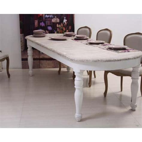tavolo ovale shabby chic mobili provenzali shabby chic