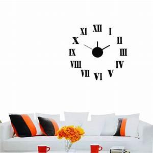 Wanduhr Römische Ziffern : design wanduhr uhr k chenuhr b rouhr quarzuhr wandtattoo dekouhr deko 4029811303885 ebay ~ Watch28wear.com Haus und Dekorationen