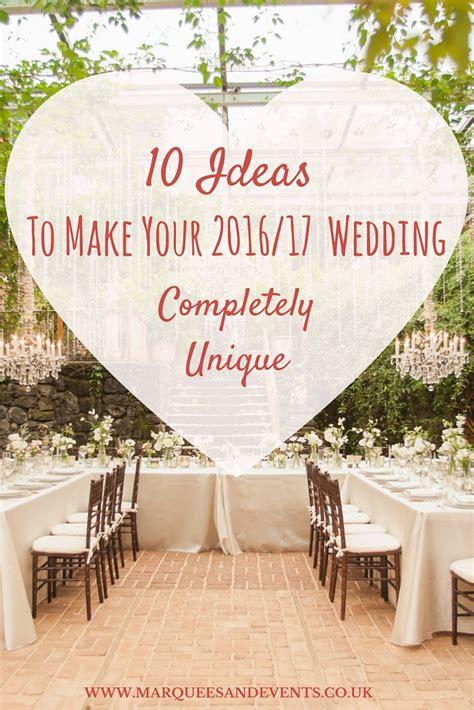 ideas     wedding completely unique