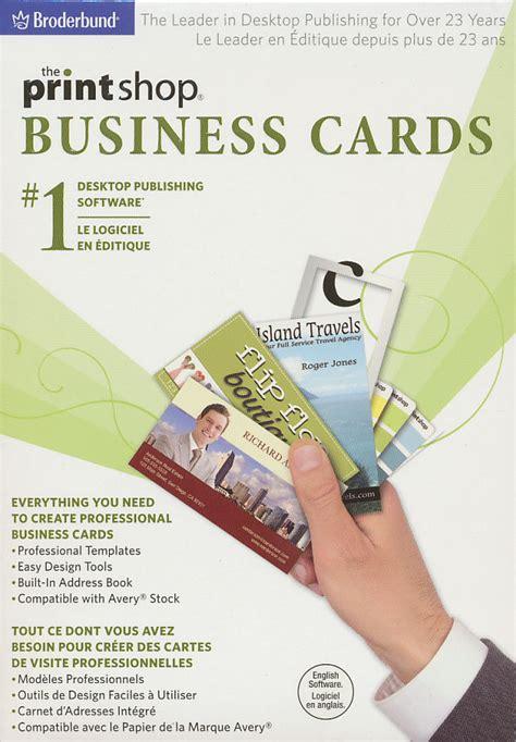 print shop business cards desktop creator publishing