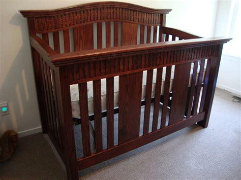 baby crib plans baby crib by randy sharp lumberjocks woodworking