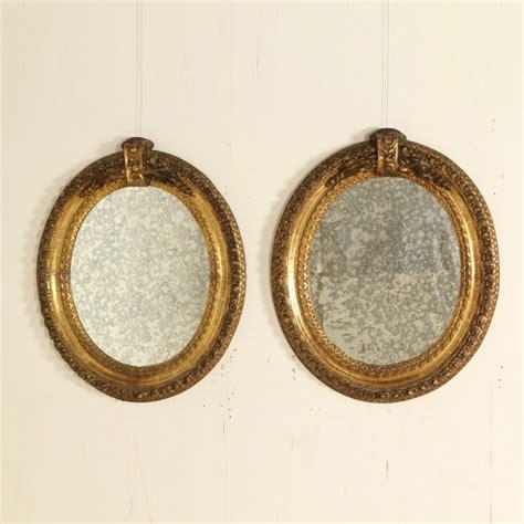 cornici intagliate coppia cornici intagliate e dorate specchi e cornici