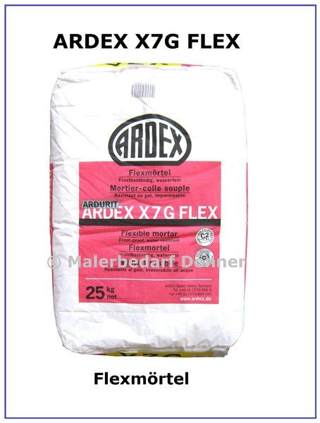 Ardex Fliesenkleber X7g Plus by Ardex X 7 G Flex Fliesenkleber 25kg Flexm 246 Rtel Jacky