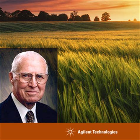 Agilent Technologies Blog The Father Of The Green Revolution