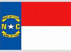 North Carolina Flag Flag Of North Carolina State