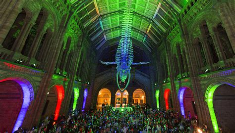 silent disco natural history museum