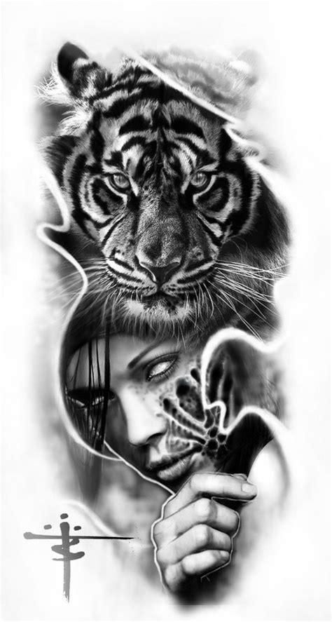 Pin by Andrew Mougios on Tattoos | Tatuaje Realista, Arte del tatuaje, Tatuaje de tigre