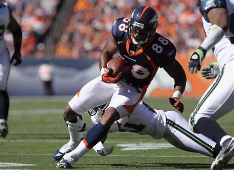 demaryius thomas  seattle seahawks  denver broncos zimbio