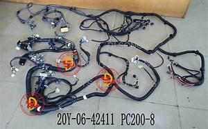 China Komatsu Excavator Spare Parts  Engine Parts  Wiring