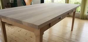 Tischplatte Aus Esche Mit Braunkern Hofherr Luzern