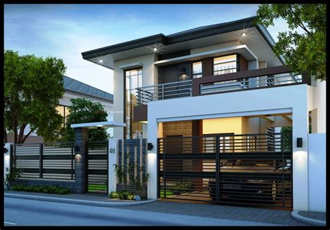 Home Design Brand : 33 Beautiful 2 Storey House Photos
