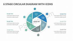 6 Stage Circular Diagram With Icons