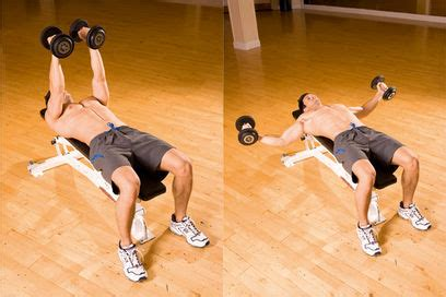 Pec Deck Flyes With Dumbbells by Healthizen Food Boybuilding Help Club Dumbbell Flye