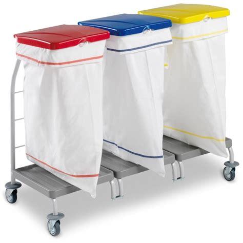 chariot porte sac transport de sac 224 linge