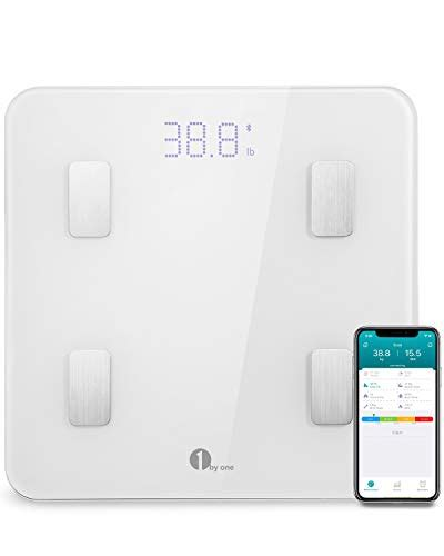 Bathroom Scale Android App by 1byone Bluetooth Digital Bathroom Smart Scale With Ios And