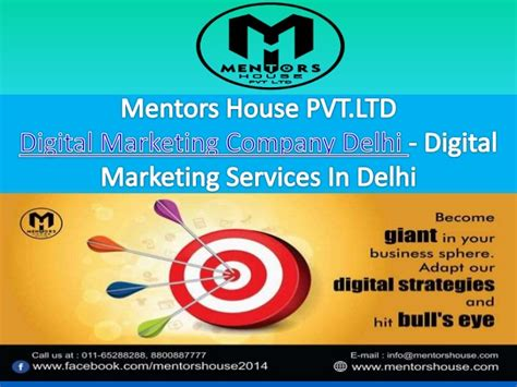 digital marketing in delhi digital marketing services in delhi mentors house