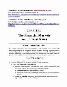 Foundations Of Finance 8th Edition Keown Solutions Manual