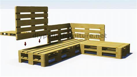 canapé avec des palettes photos canapé palettes bois