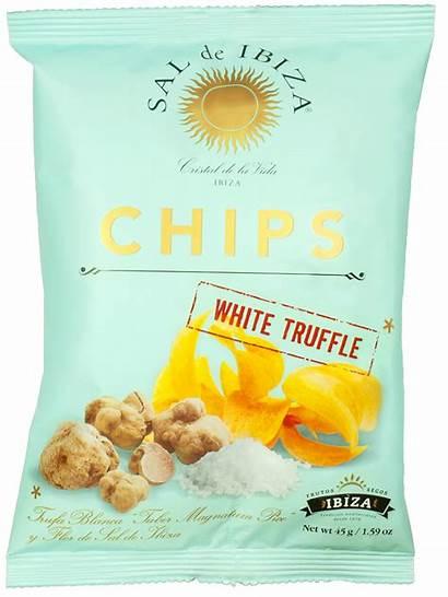 Chips Sal Ibiza Truffle Truffel Snacks Witte