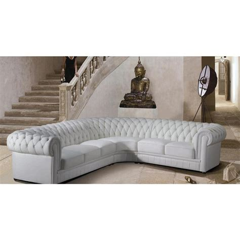 canape chesterfield blanc canape d angle chesterfield cuir 28 images canap 233 d