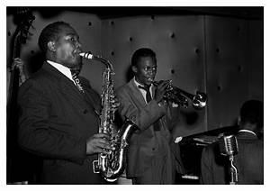 Charlie Parker Miles Davis – NYC 1947 | © Jazzinphoto