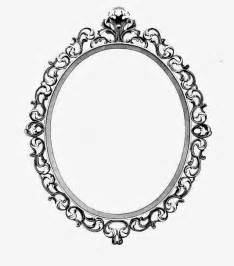 Ornate Oval Frame Drawing | Antique Oval Picture Frames ...