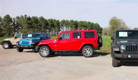 The Difference Between Jeep Wrangler Models Explained